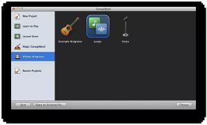 cách cài nhạc chuông cho Iphone - GarageBand