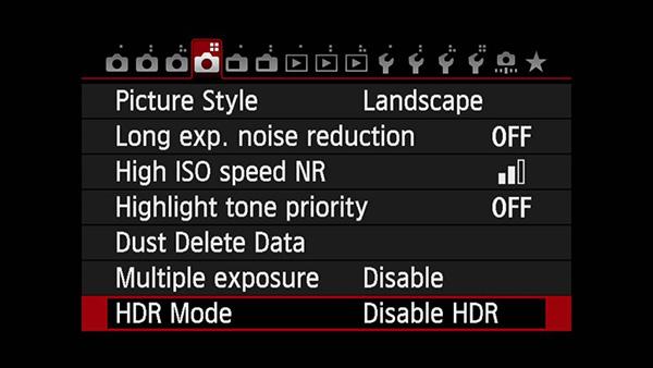 hdr là gì - chụp HDR bằng máy ảnh