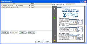 phần mềm ghép file pdf - PDF Rider