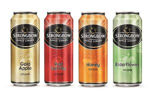 Strongbow - 4 vị cho bạn lựa chọn